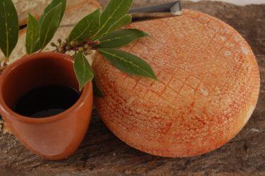 Pecorino toscano semistagionato Il Rosso DEL PASTORE